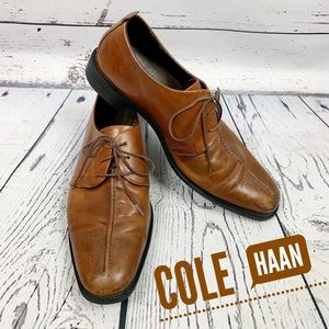 Cole Haan Brown Cain Oxford Lace Up - Size 9.5